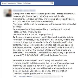 Facebookprivay
